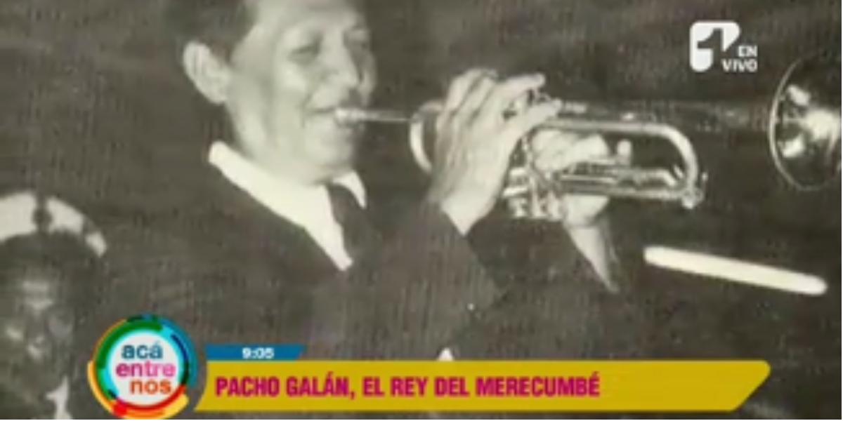 La historia de Pacho Galán, el rey del Merecumbé - Foto: captura de pantalla.