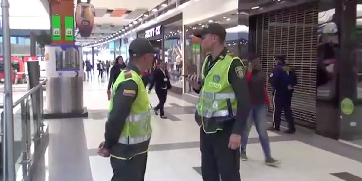 Adelantan estrategia de seguridad con centros comerciales de Bogotá