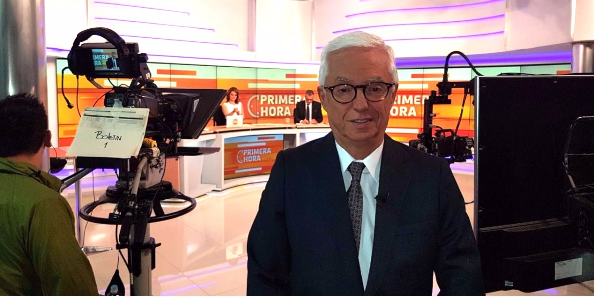 El Senador Jorge Robledo habló del debate en Primera Hora - Foto: Digital Canal 1.