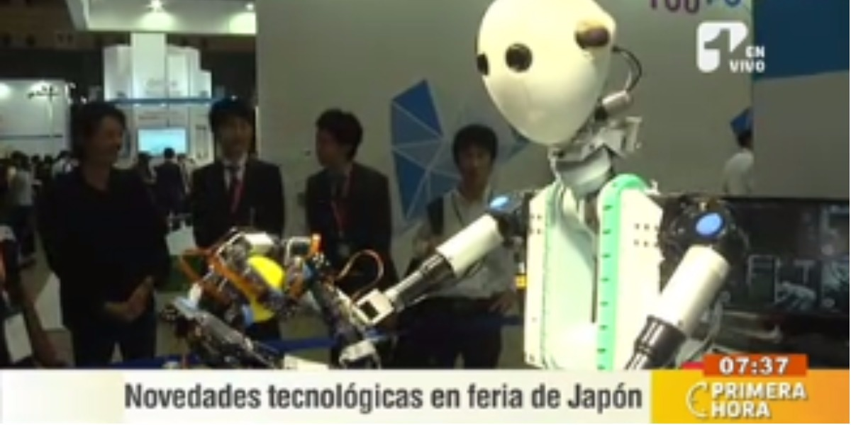 Los robots criarán a los niños en Japón - Foto: captura de pantalla.