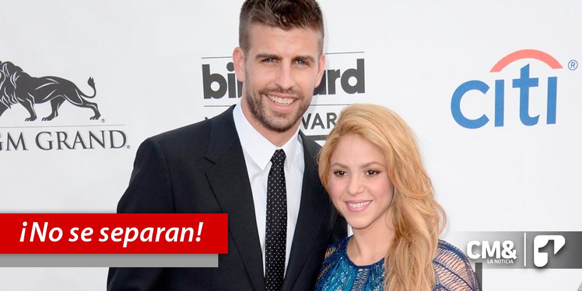 Con video, Piqué desmiente separación de Shakira