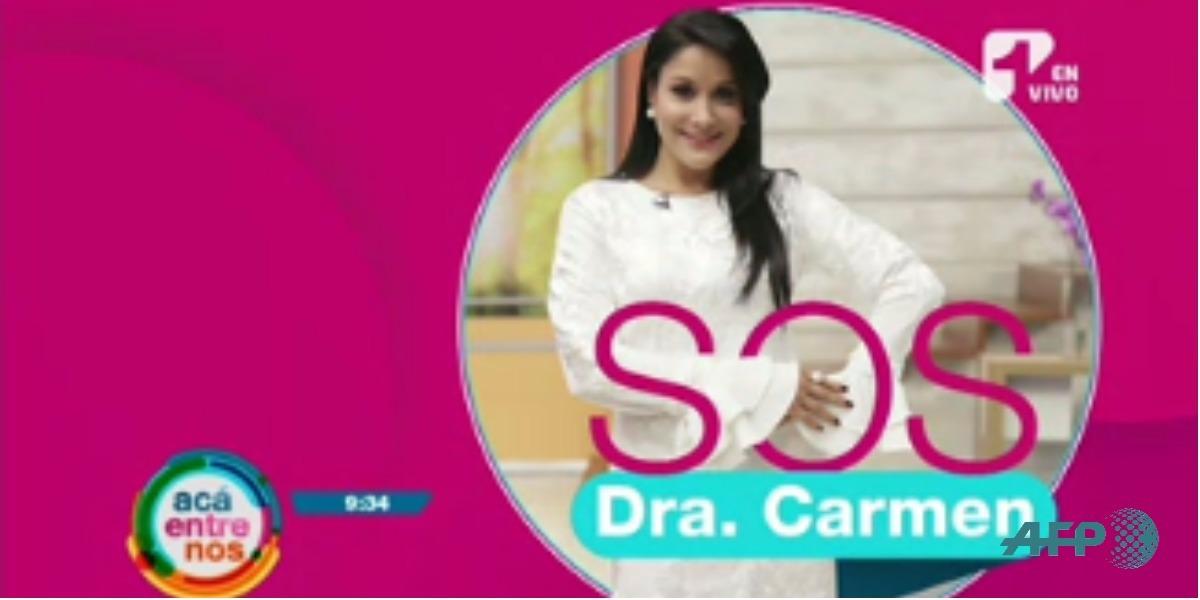 Los consejos de la doctora Carmen - Foto: Captura de pantalla.