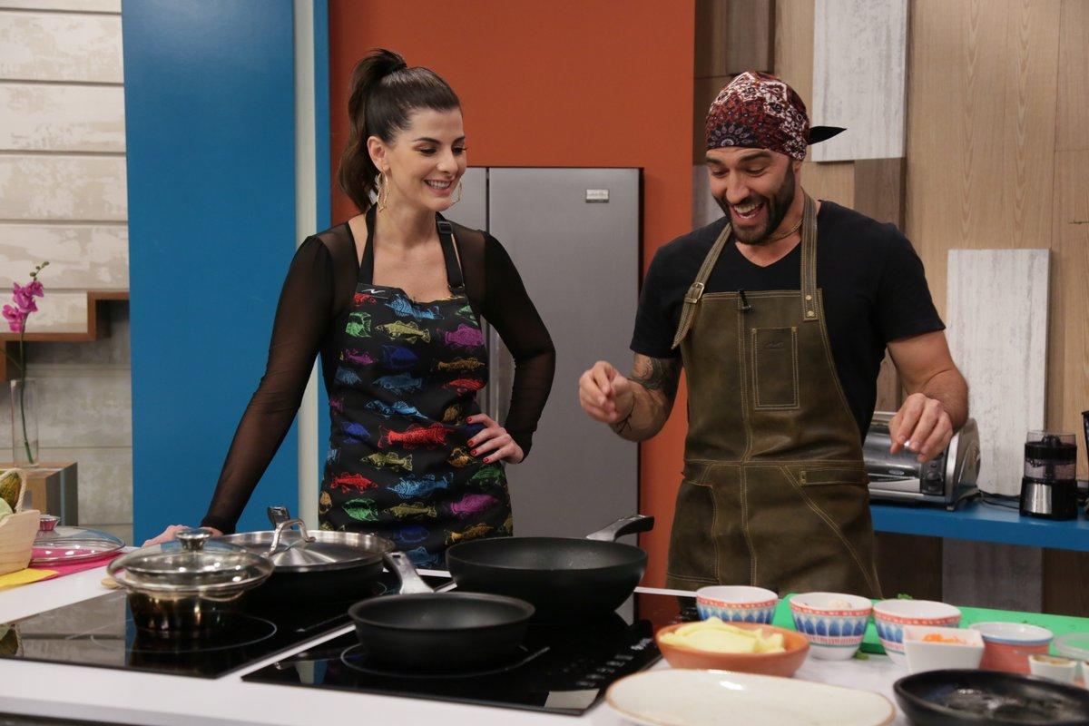 Carolina Cruz y Leo Morán prepararon estos deliciosos tacos