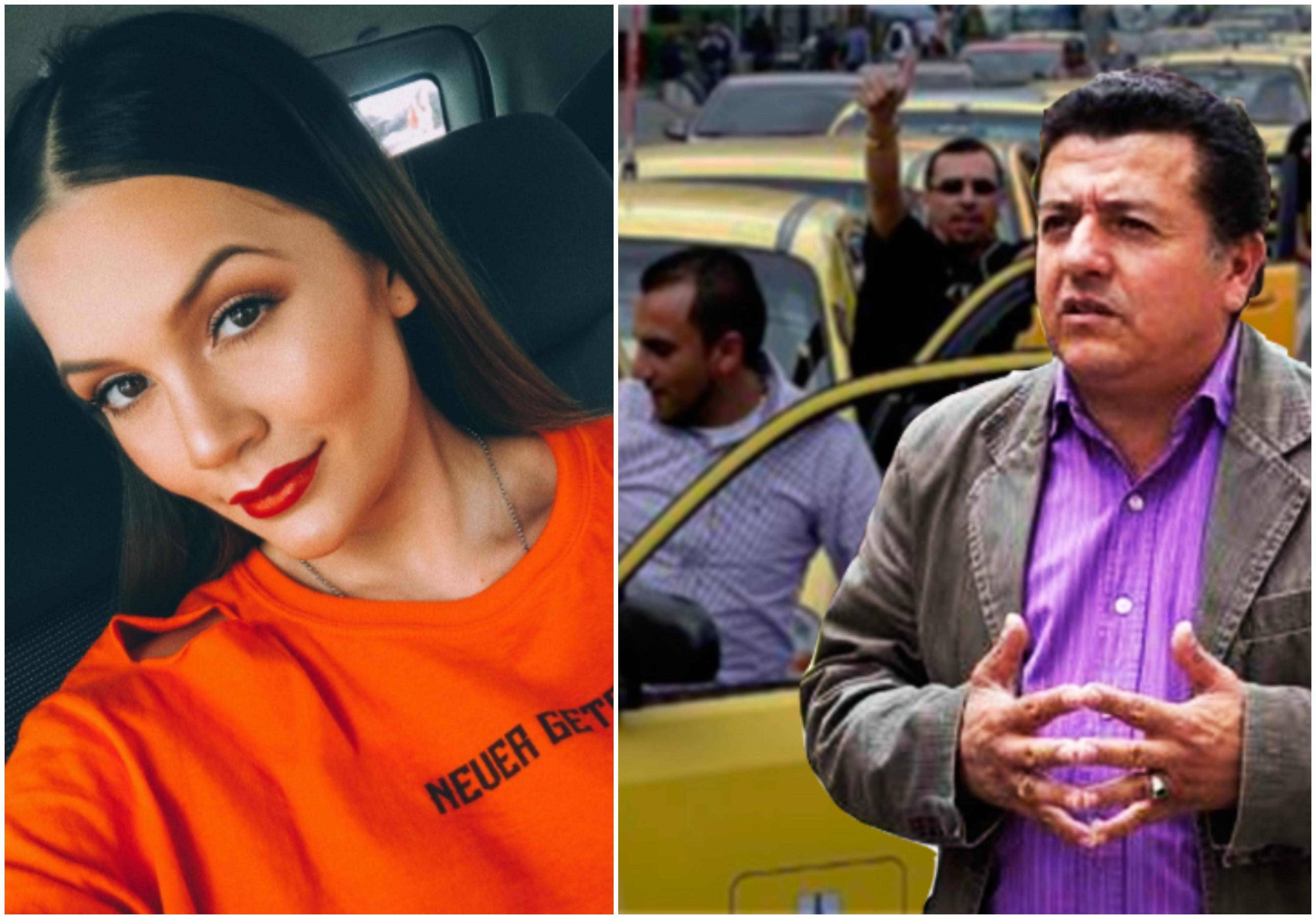 Lina Tejeiro y su contundente respuesta a líder de los taxistas que la acusó de delincuente