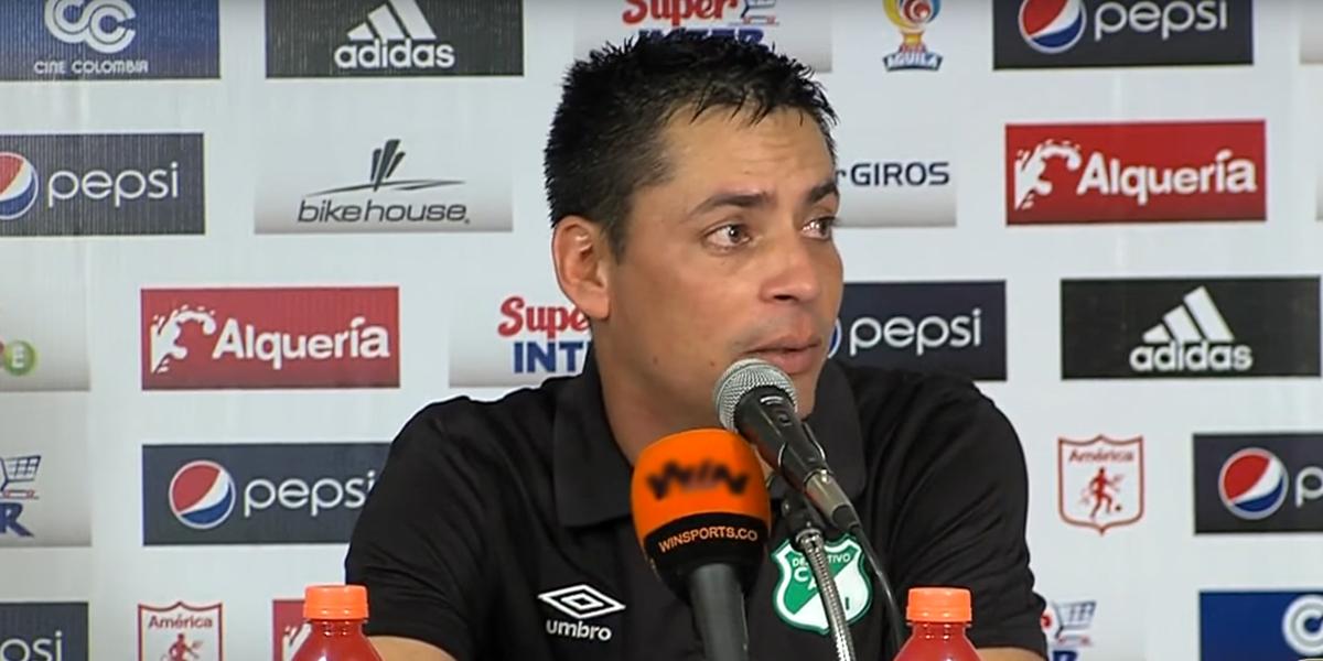 Héctor Cárdenas ya no es más el técnico del Deportivo Cali