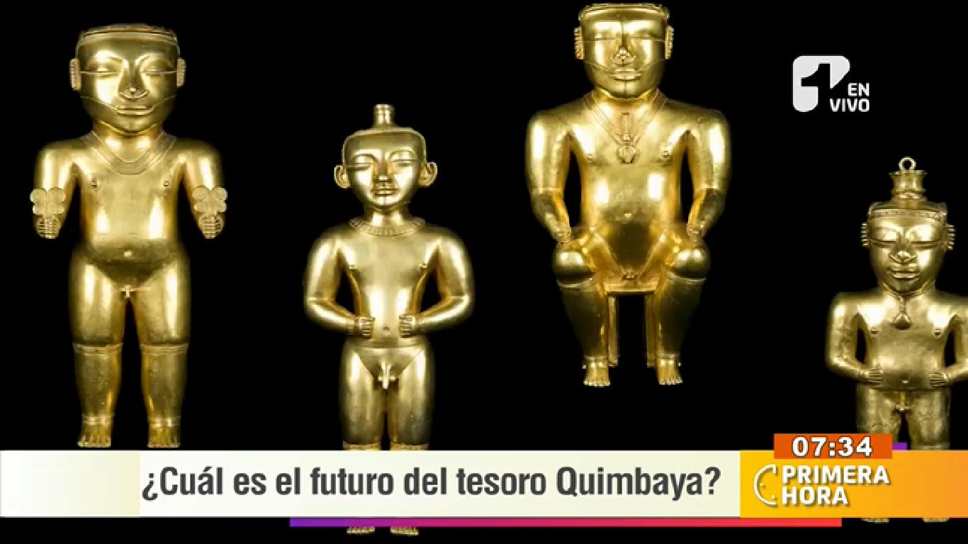 ¿Por qué es tan importante el tesoro de Quimbaya para Colombia?