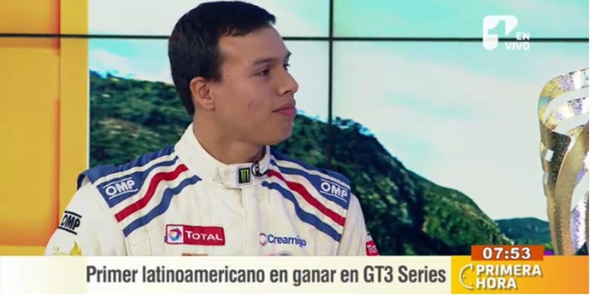 Óscar Tunjo sigue ganando en el exterior - Foto: captura de pantalla.