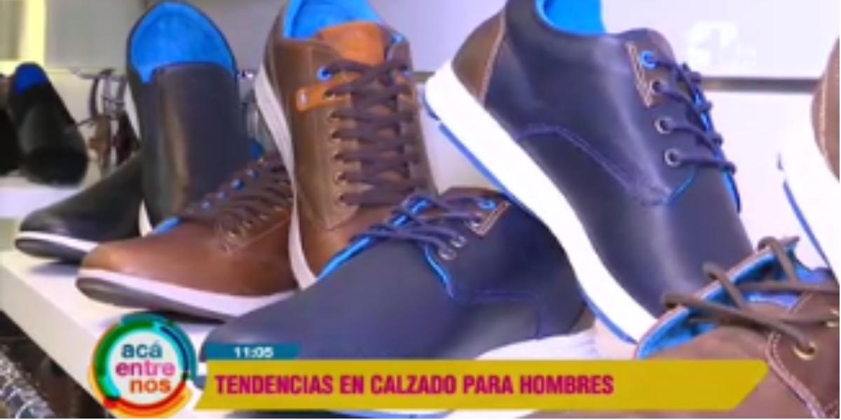 Moda de zapatos para hombres - Foto: captura de pantalla.
