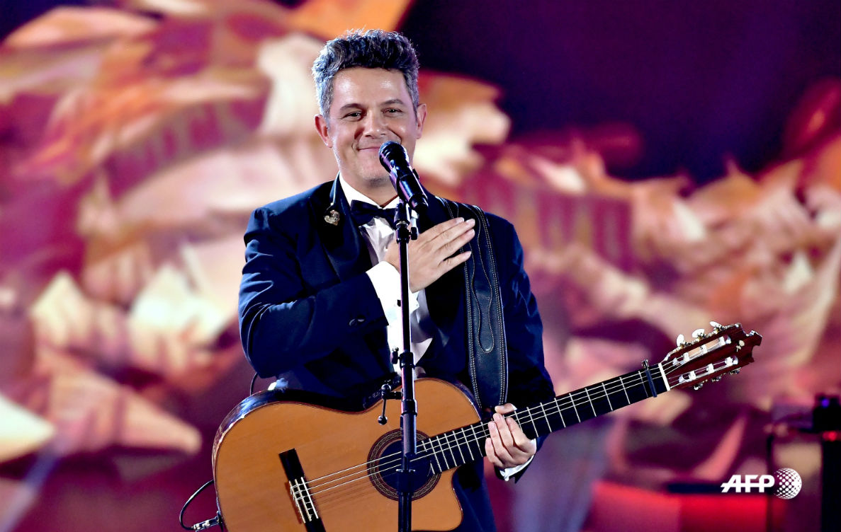 Alejandro Sanz Latin Grammy cantante - AFP