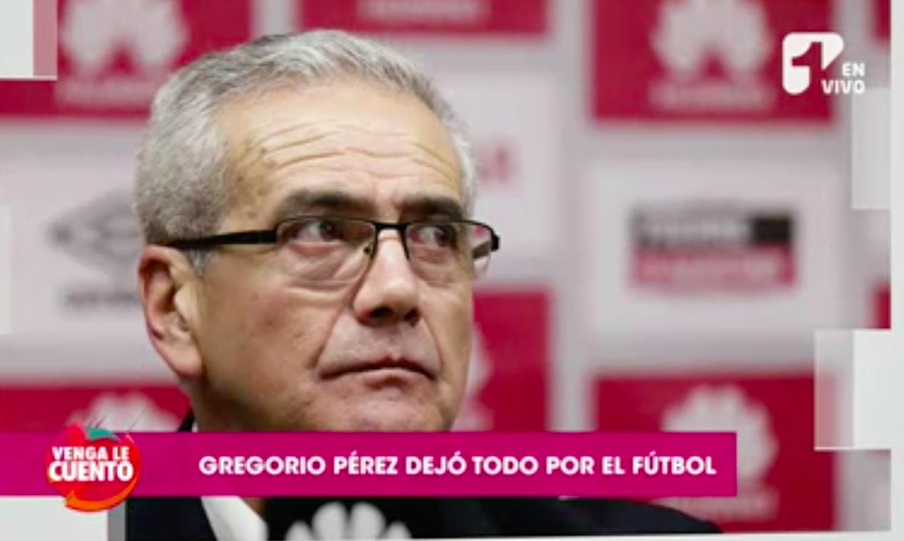 El director técnico del Santa Fe, Gregorio Pérez, lo dejó todo por el fútbol