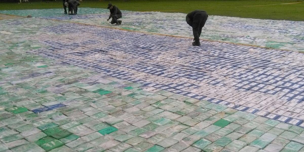 Histórica incautación de más de 12 toneladas de cocaína en el Urabá