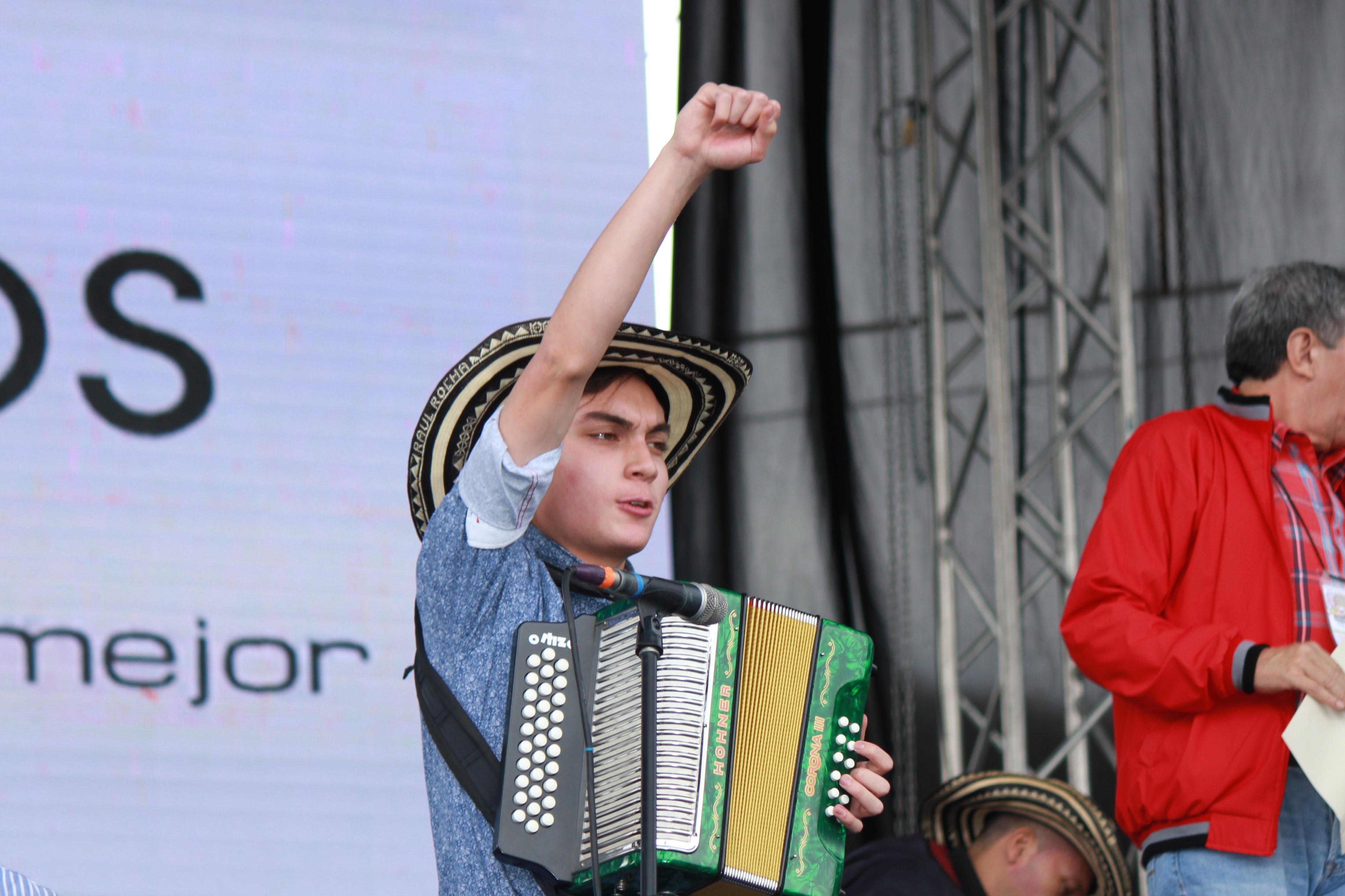 El vallenato se tomó el departamento de Boyacá con el Festival Vallenato de Nobsa