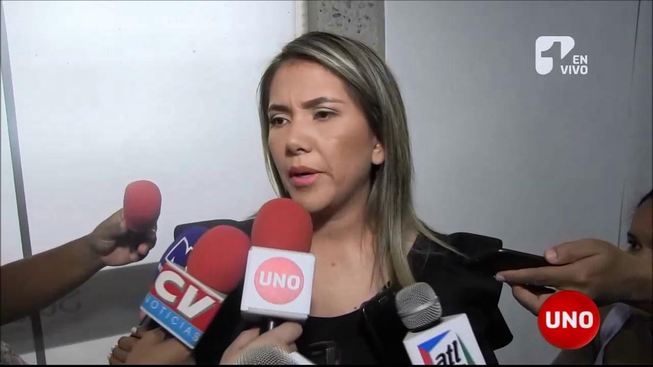 La viuda de Martín Elías terminó brúscamente una entrevista