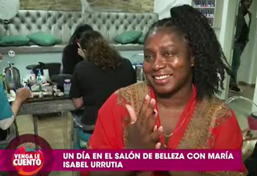 María isabel urrutia deportista venga le cuento