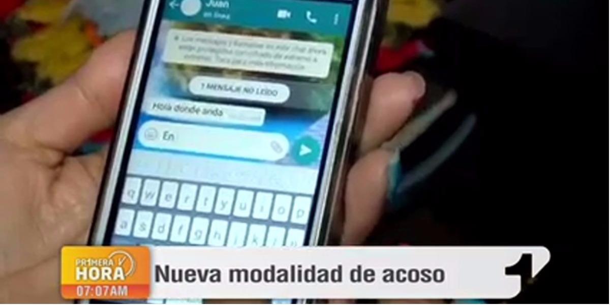Ojo con el acoso telefónico - Foto: captura de pantalla.