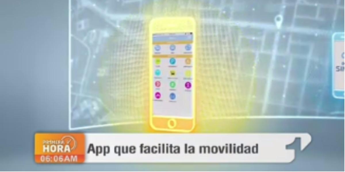 Una app hecha para la movilidad de los bogotanos - Foto: captura de pantalla.