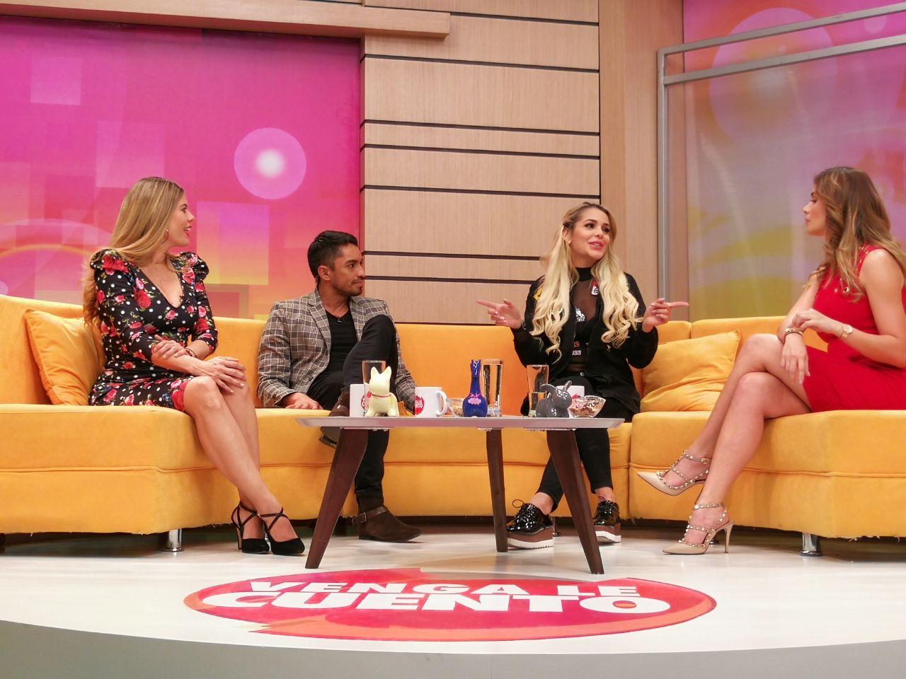 ¿Por qué Lorna Cepeda salió corriendo del set de su programa en el Canal 1?