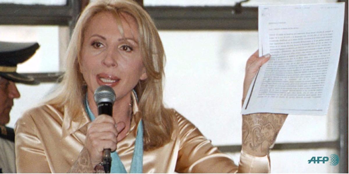 La secreta visita de Laura Bozzo a Colombia - Foto: PACO MEDINA / PODER JUDICIAL / AFP