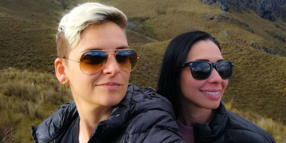 Camila Chaín se casa con Kelly Barrios y asegura que quiere ser mamá