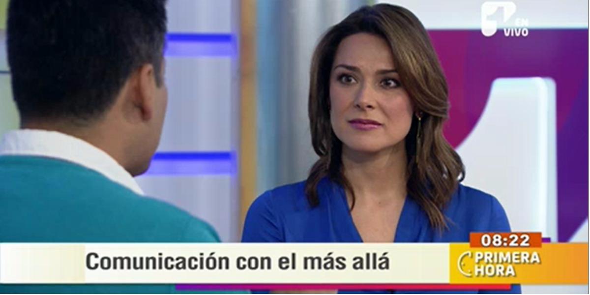 El impactante momento que Silvia Corzo pasó en Primera Hora - Foto: captura de pantalla.