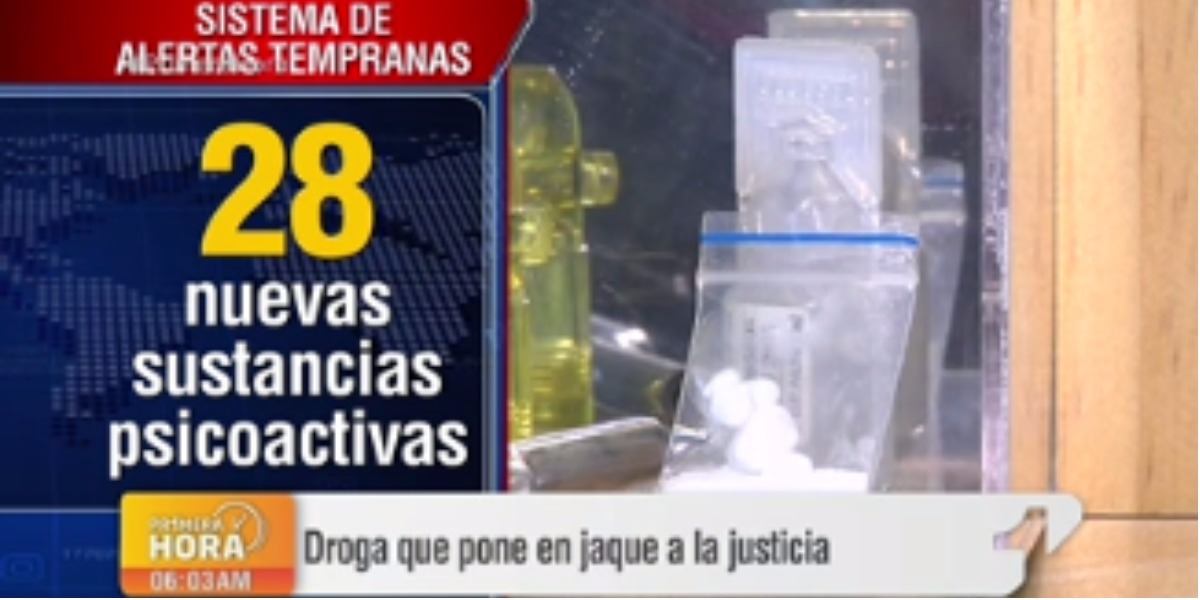 Una nueva droga que pone en jaque a las autoridades - Foto: captura de pantalla.