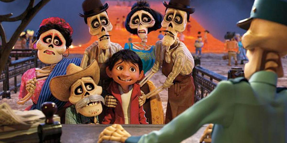 Se estrena la película animada 'Coco' en Los Ángeles