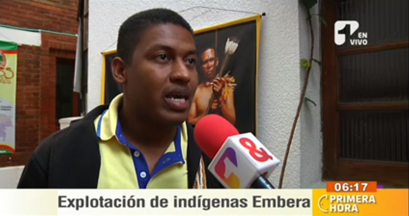Denuncias por explotación de indígenas Embera prende las alarmas