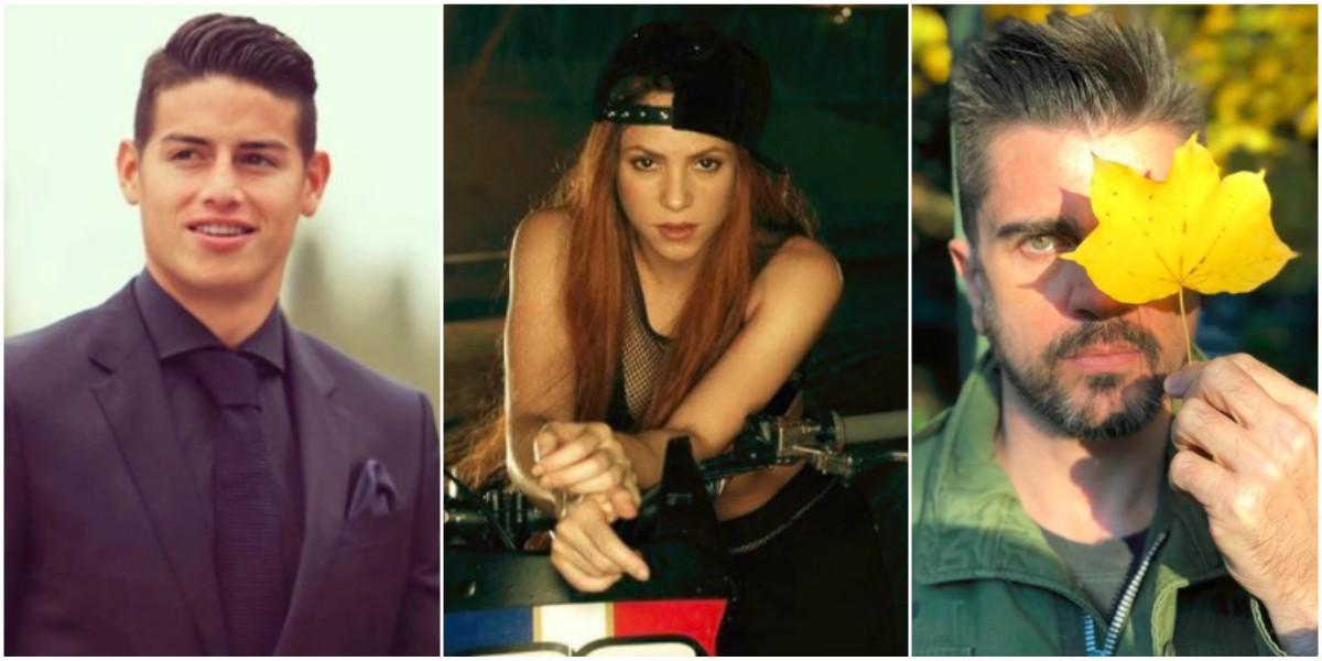 Mal presagio en el amor para Juanes, Shakira y James Rodríguez en 2018