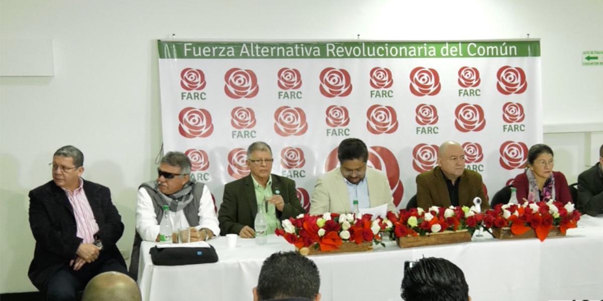 La Farc debuta como partido político en las votaciones del 11 de marzo