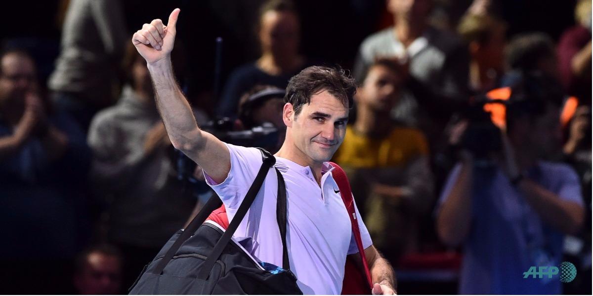 Federer le dijo adiós al torneo de Maestros - Foto: Glyn KIRK / AFP