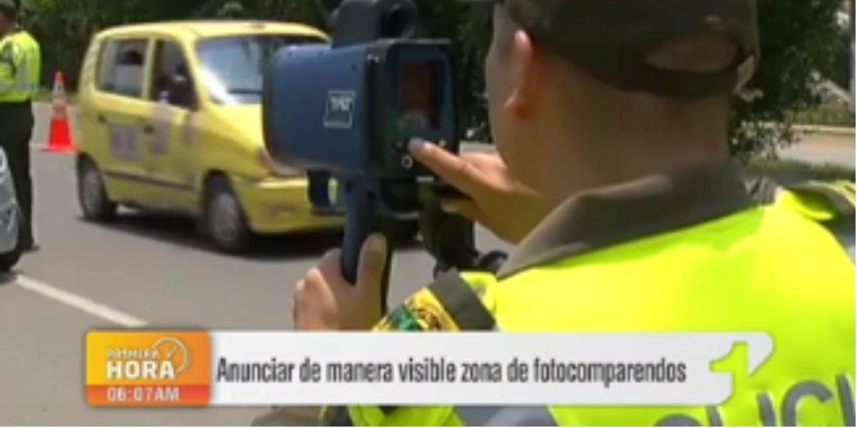 Autoridades deben informarle sobre zonas de fotomultas - Foto: captura de pantalla.
