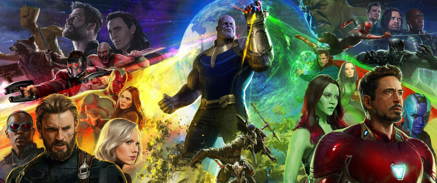 ¡Épico! Mira el primer e increíble tráiler de 'Avengers Infinity War'