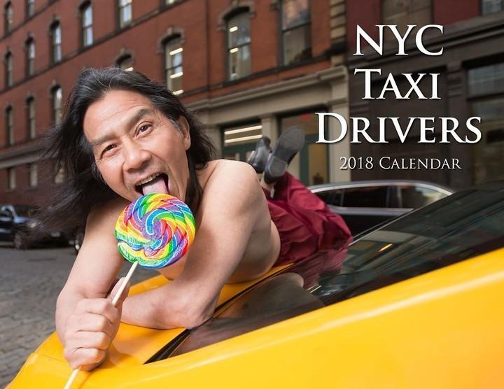 El insólito calendario que realizaron los taxistas de Nueva York