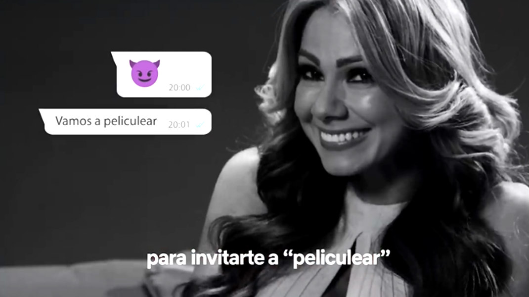 """""""Nunca la den tan rápido"""": Esperanza Gómez es la imagen de la nueva campaña de Netflix"""