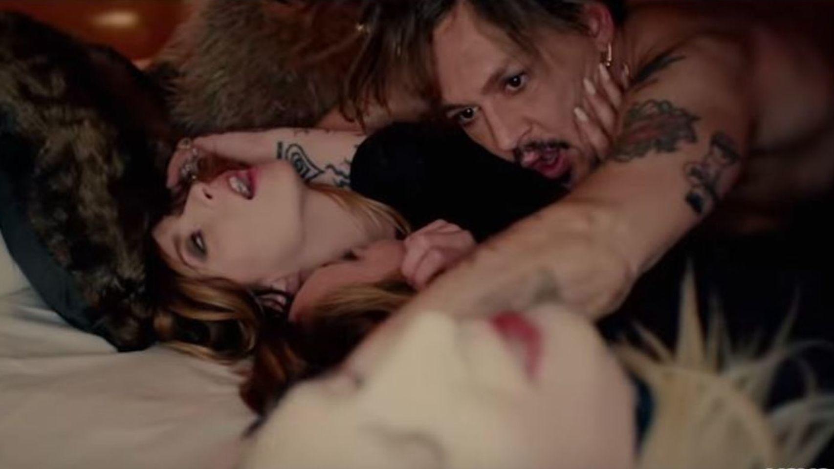 Johny Depp participa en un orgía de Marilyn Manson y este es el video