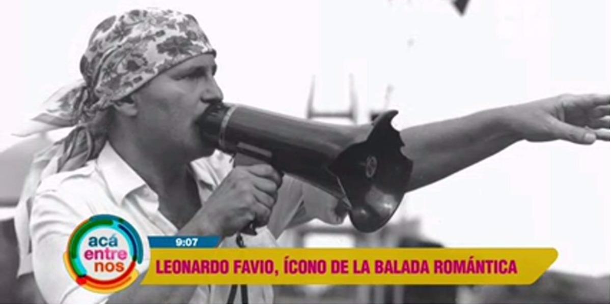 Recordando a Leonardo Favio - Foto: captura de pantalla.