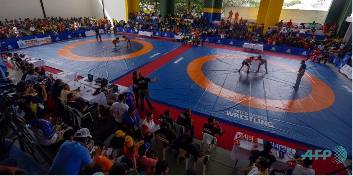Así le ha ido a Colombia en la lucha libre de los Juegos Bolivarianos 2017 - Foto: DAVID SANCHEZ / AFP