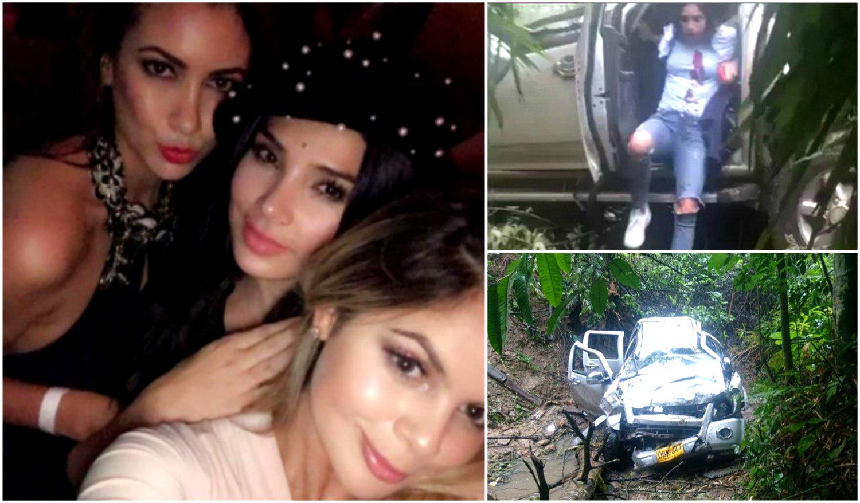 Nanis Ochoa se defiende tras grabar un vídeo en pleno accidente