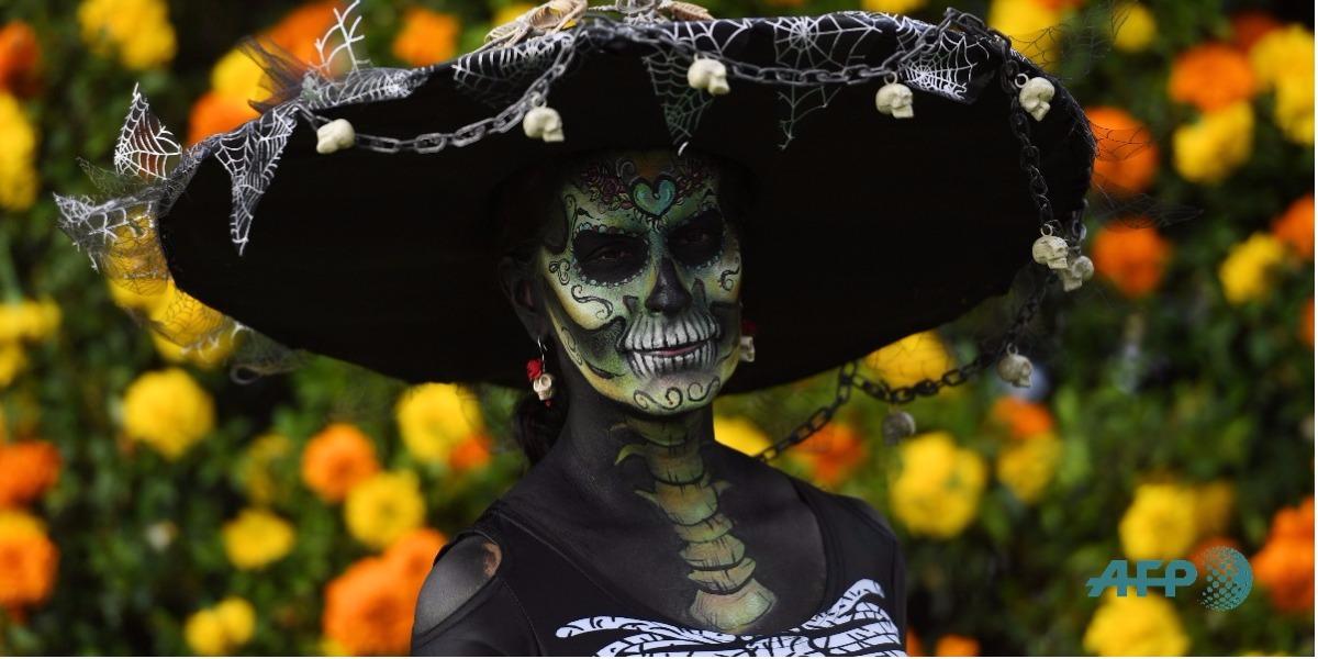 El día de los muertos en México - Foto: MARK RALSTON / AFP