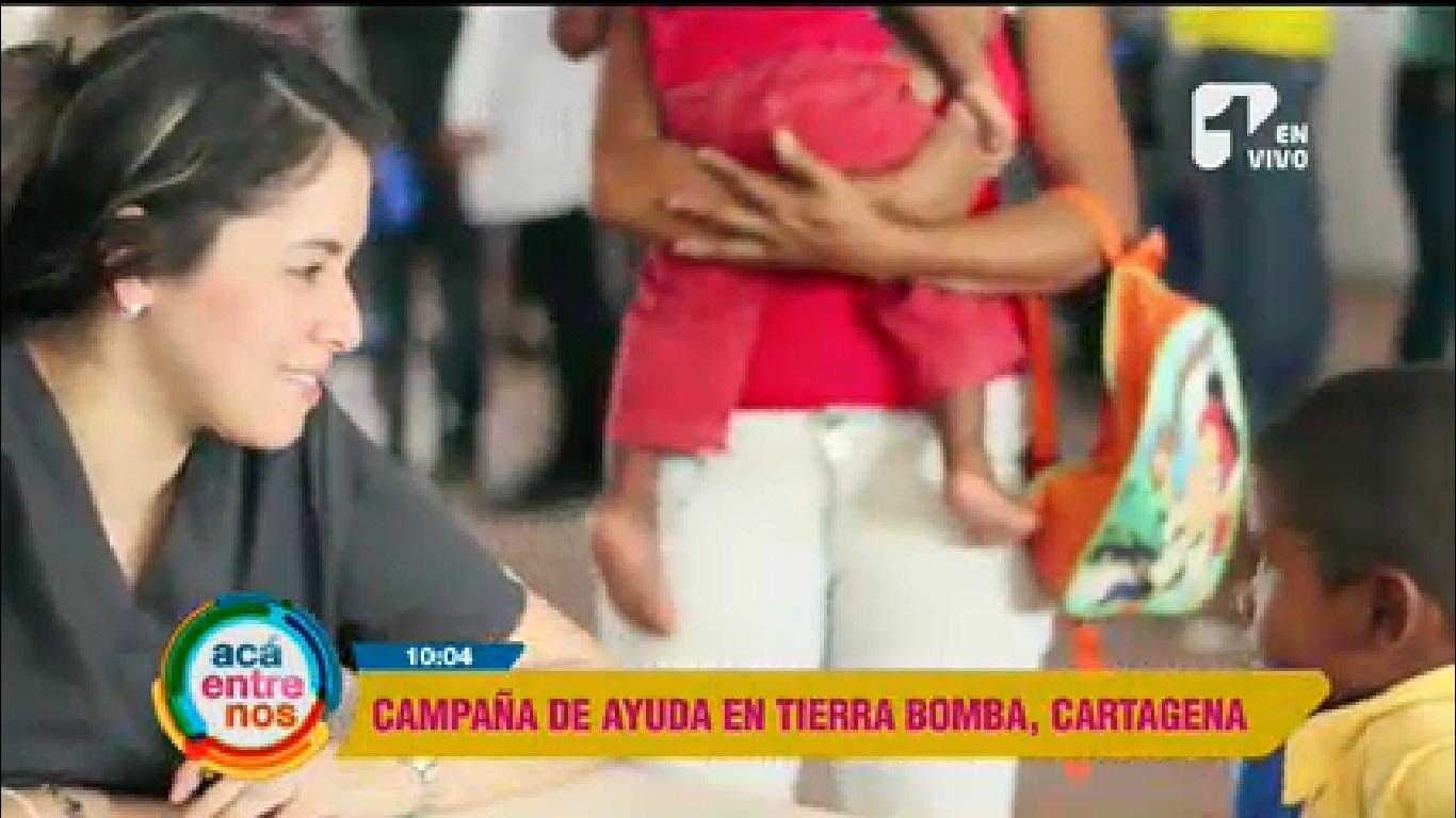 La gran labor de la Armada Nacional por los habitantes de Tierra Bomba, Cartagena