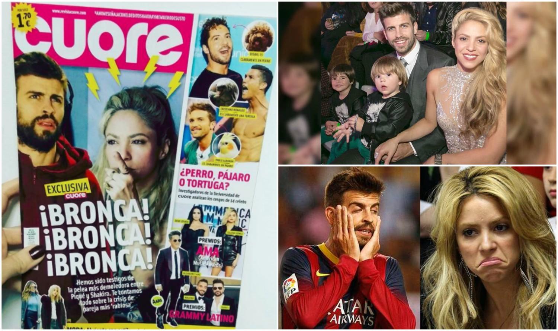 La supuesta pelea entre Shakira y Piqué que le da la vuelta al mundo