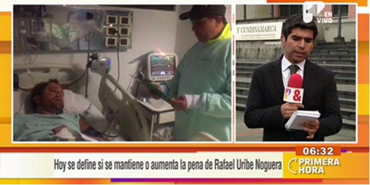 Podría disminuir la pena de Rafael Uribe Noguera - Foto: captura de pantalla.
