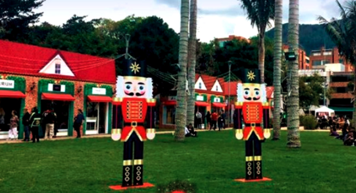 'Santa Market', la feria navideña que se toma Bogotá