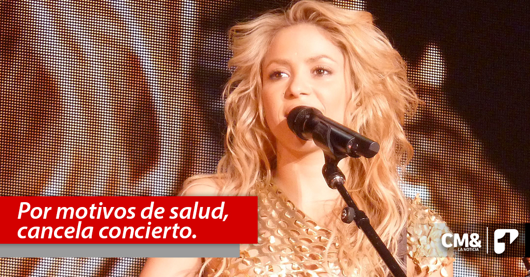 Shakira cancela primer concierto de su gira 'El Dorado' en Alemania