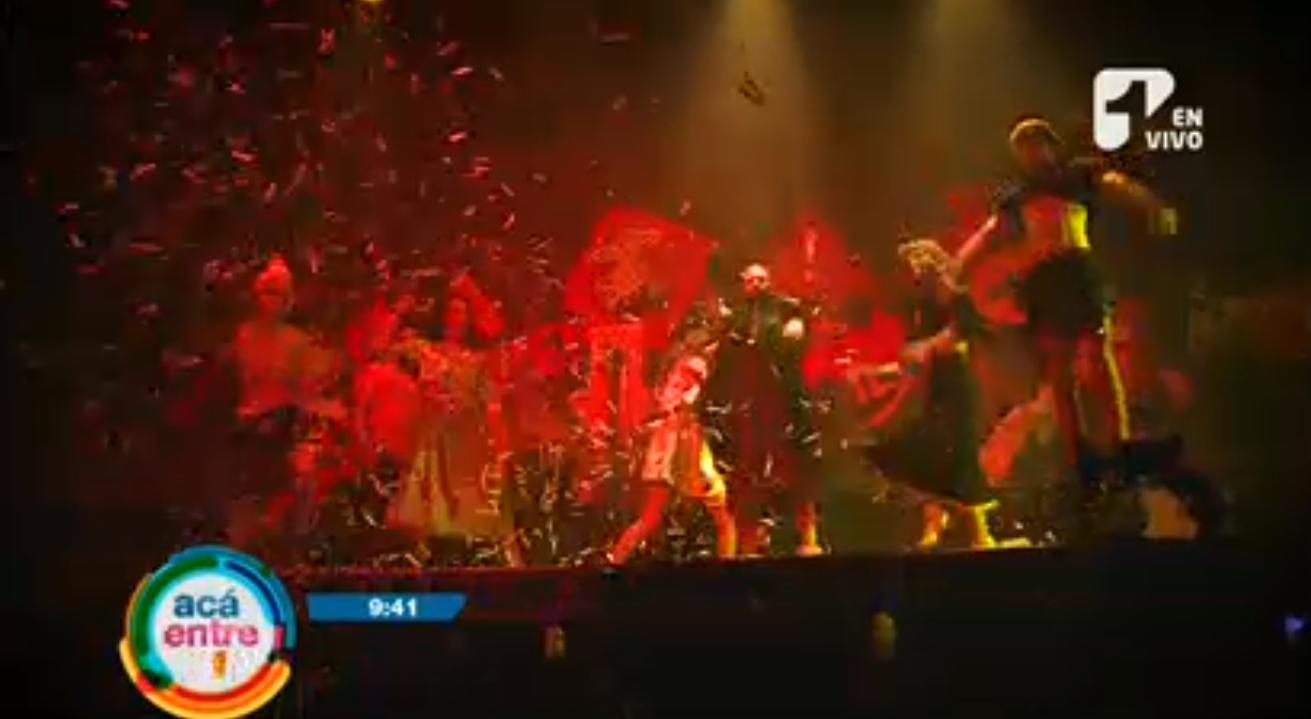 Teatro, circo y mucha acción en la obra «El grito»