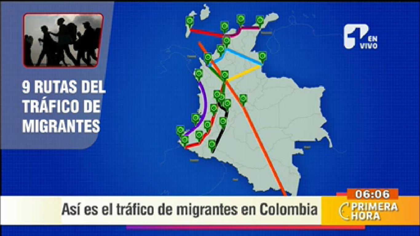 Así funciona el tráfico de migrantes en Colombia