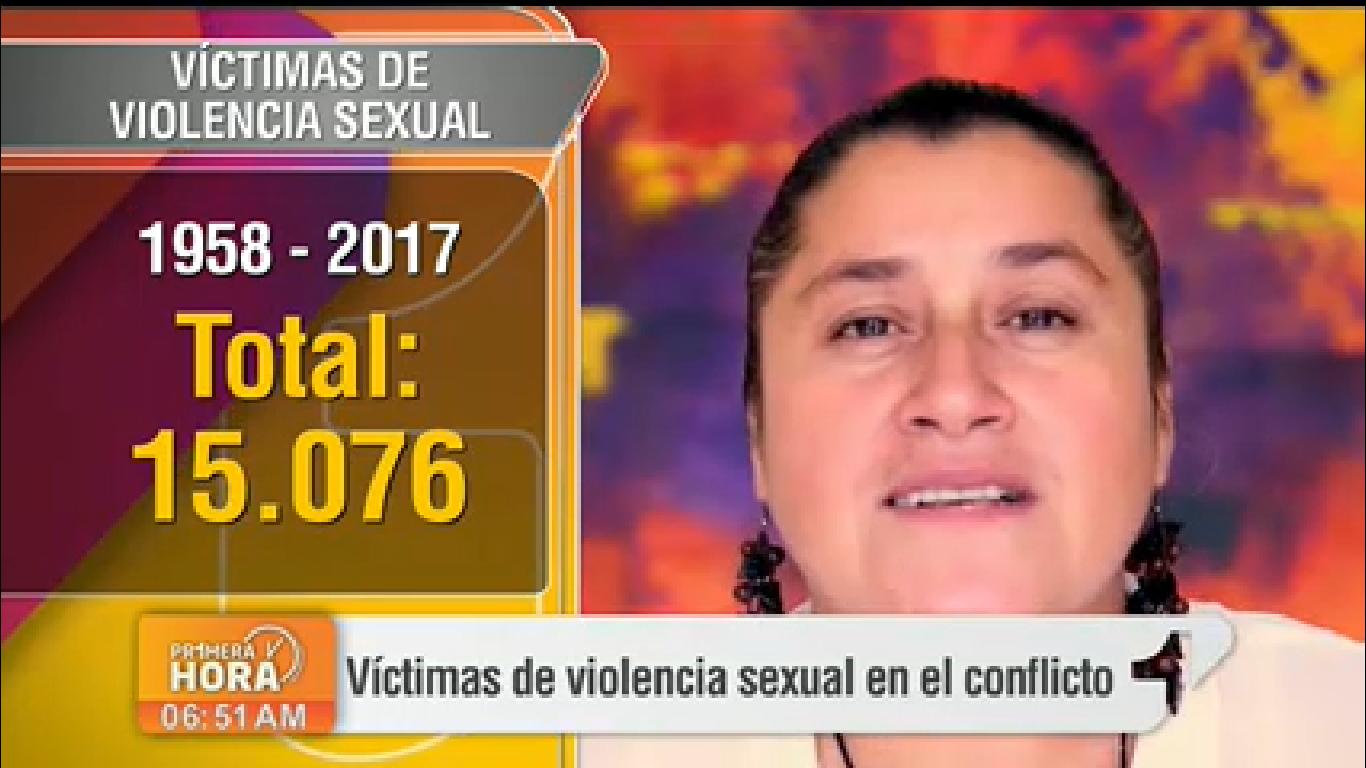 Las cifras de las víctimas de violencia sexual en el conflicto