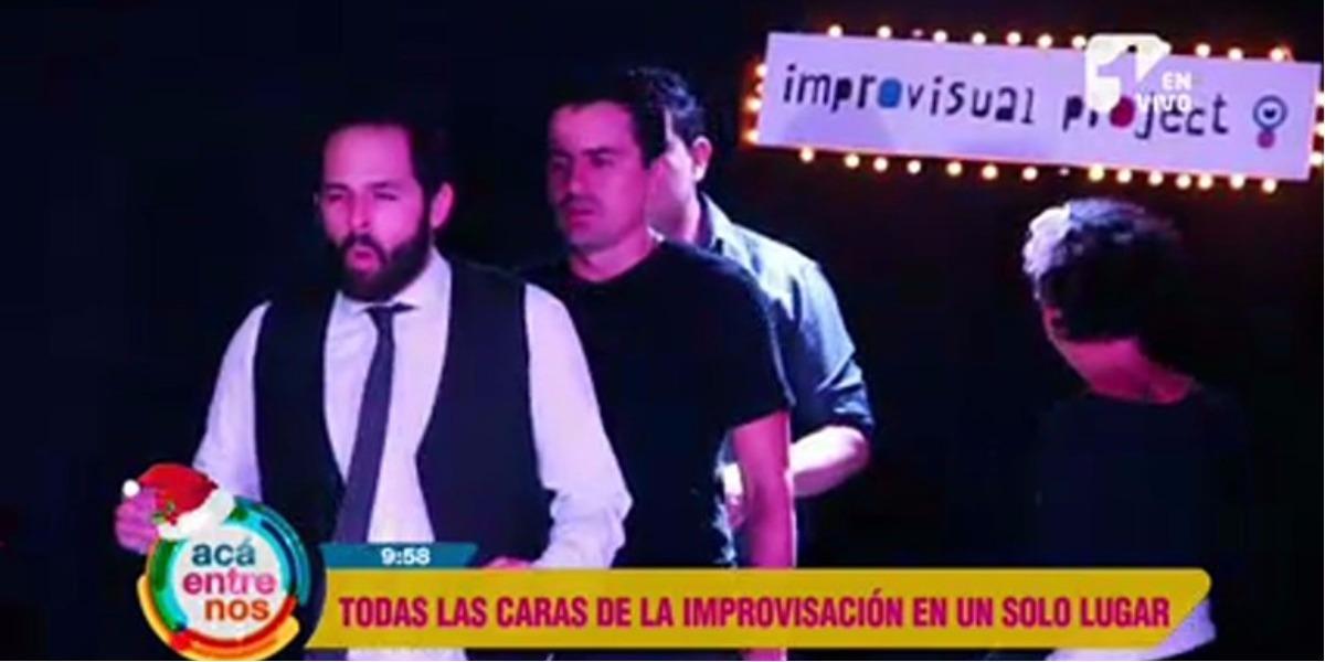 El teatro improvisado se toma Bogotá - Foto: captura de pantalla.