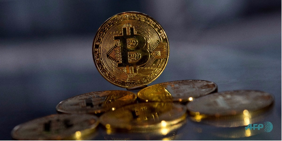 El polémico Bitcoin - Foto: Justin TALLIS / AFP