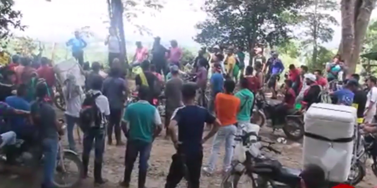 Comunidad del Catatumbo pide al Gobierno dialogar con ELN y EPL